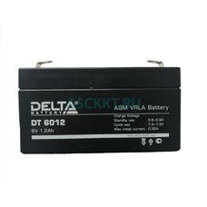 Аккумулятор 6V 1200 mAh