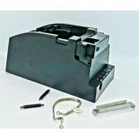 Пластиковый кожух (черный) с кабелем заземления, гребенкой, 2-мя поддерживающими роликами для рулона бумаги (39746004106)