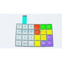 Клавиатура плёночная SME826.37.000 Keyboard ЭЛВЕС-МФ (78831)
