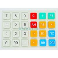 Клавиатура резиновая матрица-верхняя ЭЛВЕС-МИКРО-Ф(32991)