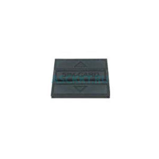 Крышка пластикова (ABS) для ККО SIM-CARD, ABS, РА-717С, Color-RAL 9005 (black) (SMM11079.00.09-09